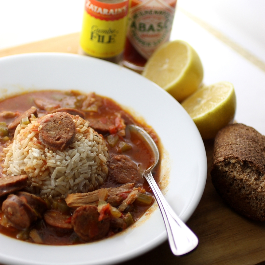 The Story of post-Thanksgiving Gumbo