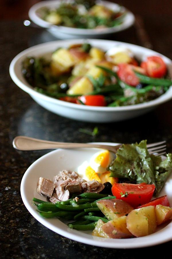 Nice: Salade Niçoise