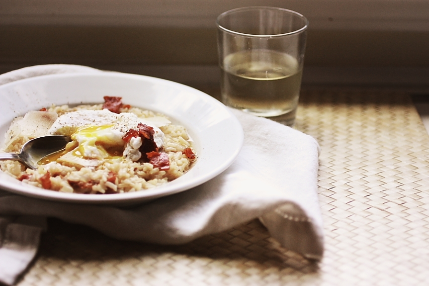 Risotto Carbonara: Or, How I Threw Down the Integrale Gauntlet